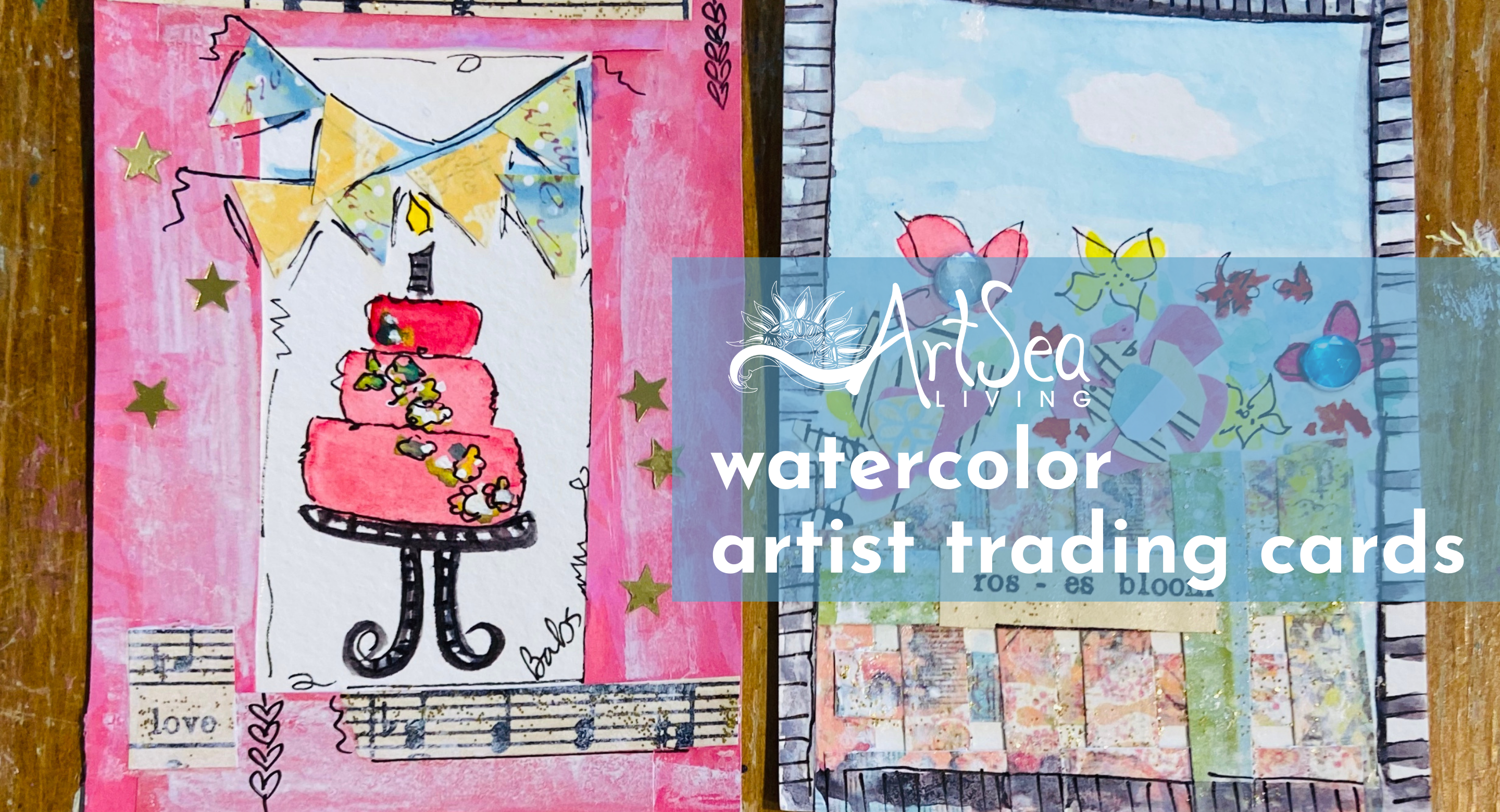 Watercolor | Artist Trading Cards
