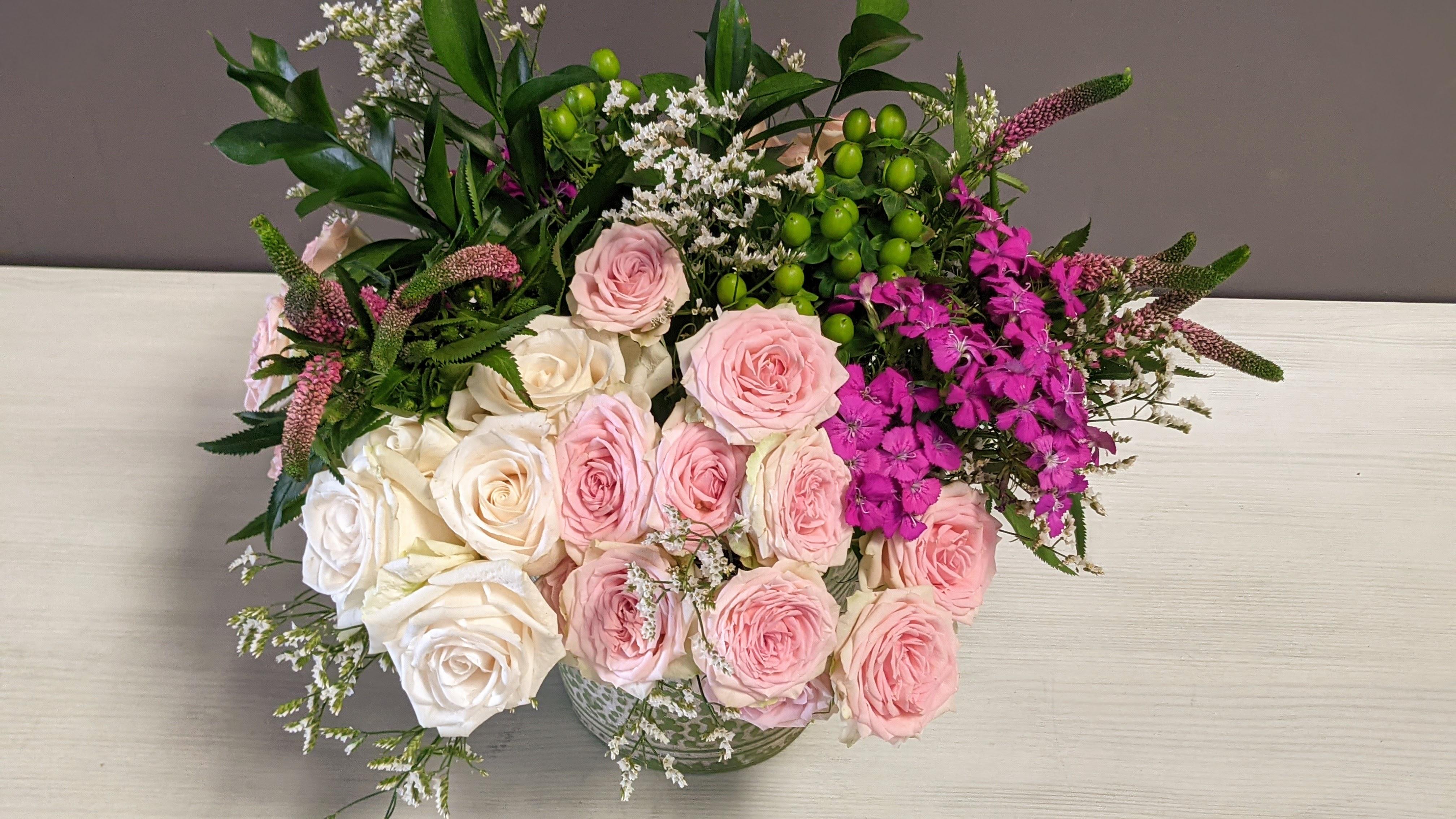 Fishbowl Flowers