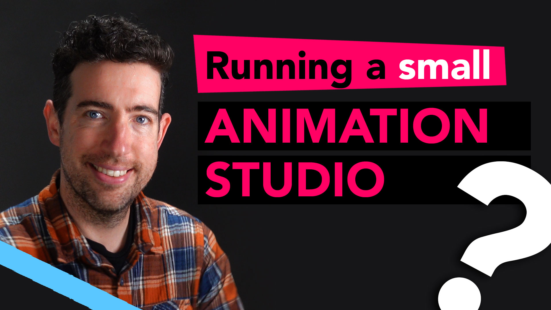 Start an animation studio in 2020