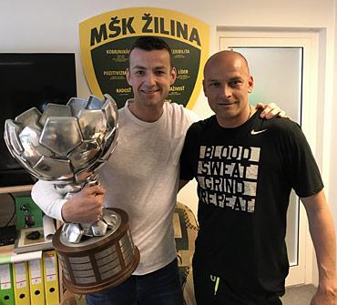 Adrian Gula a Radek Sefcik