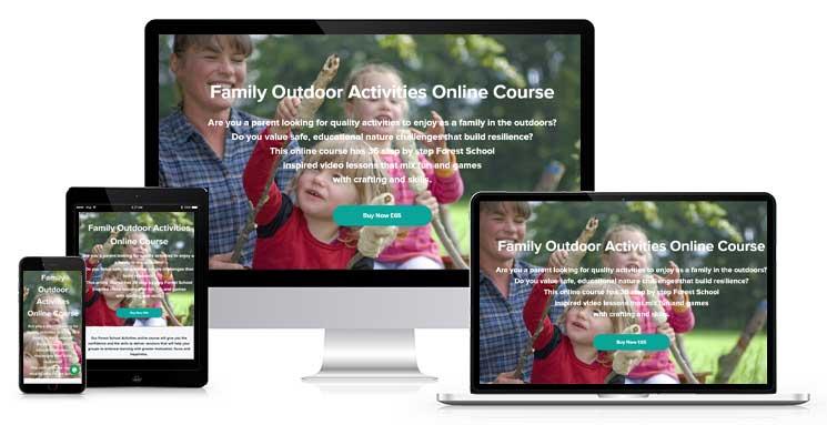 Family Outdoor Activities Online Course