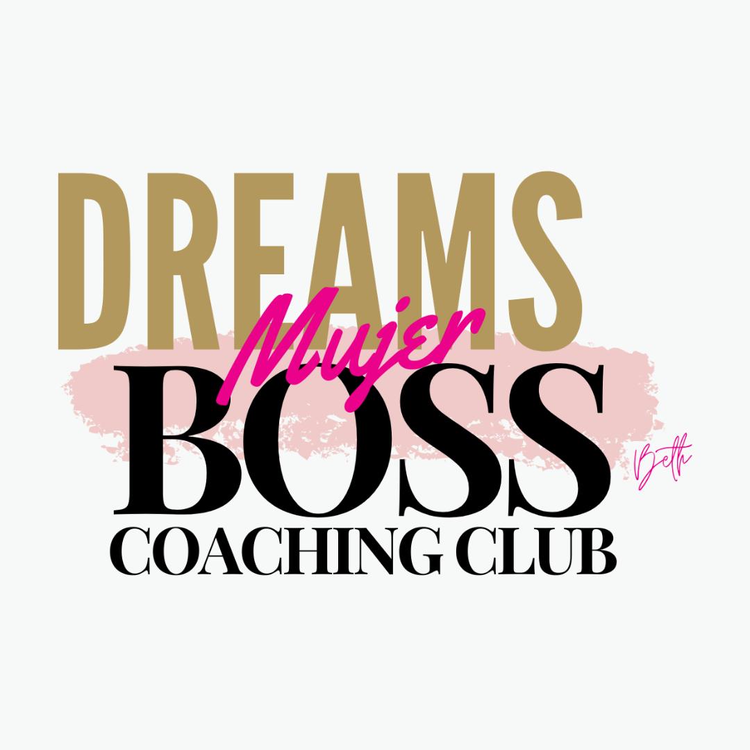 Mujeres Dreams Boss Escritoras