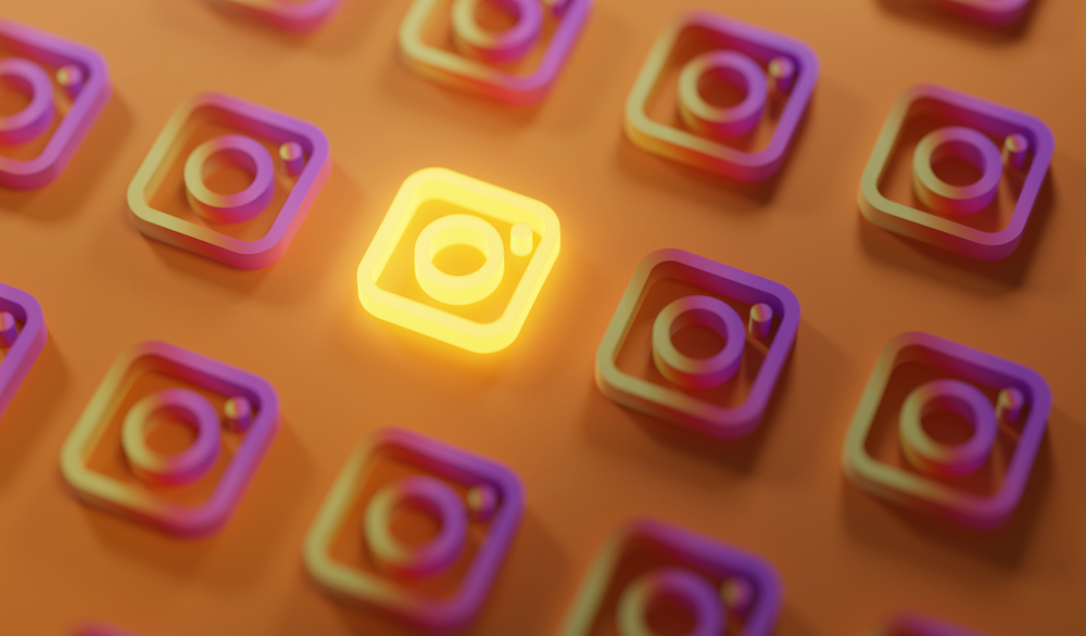 Image of Instagram icons to illustrate that you can start a business online without a website using only Instagram.