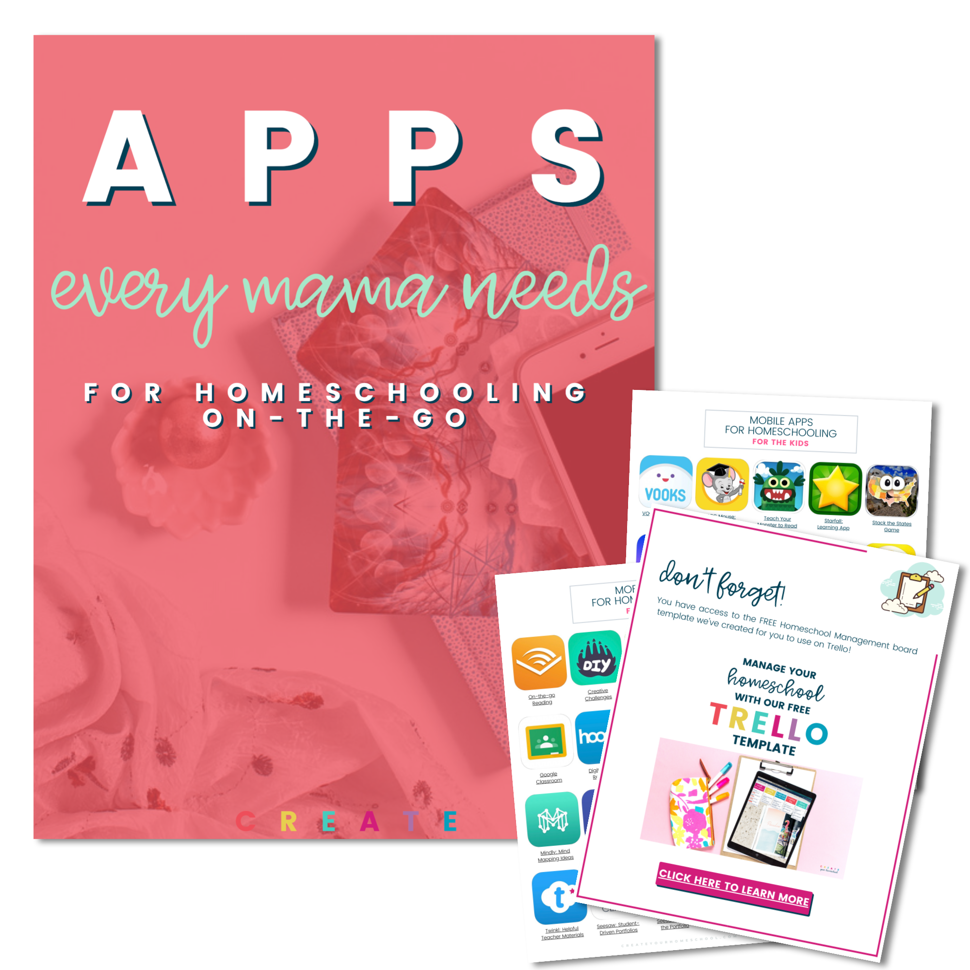 apps every mama needs for homeschooling on the go