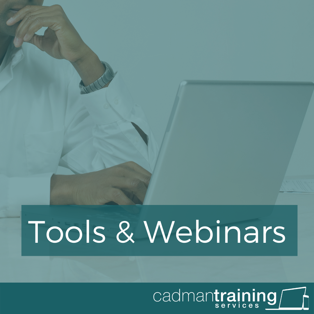 Tools and webinars Cadman Training