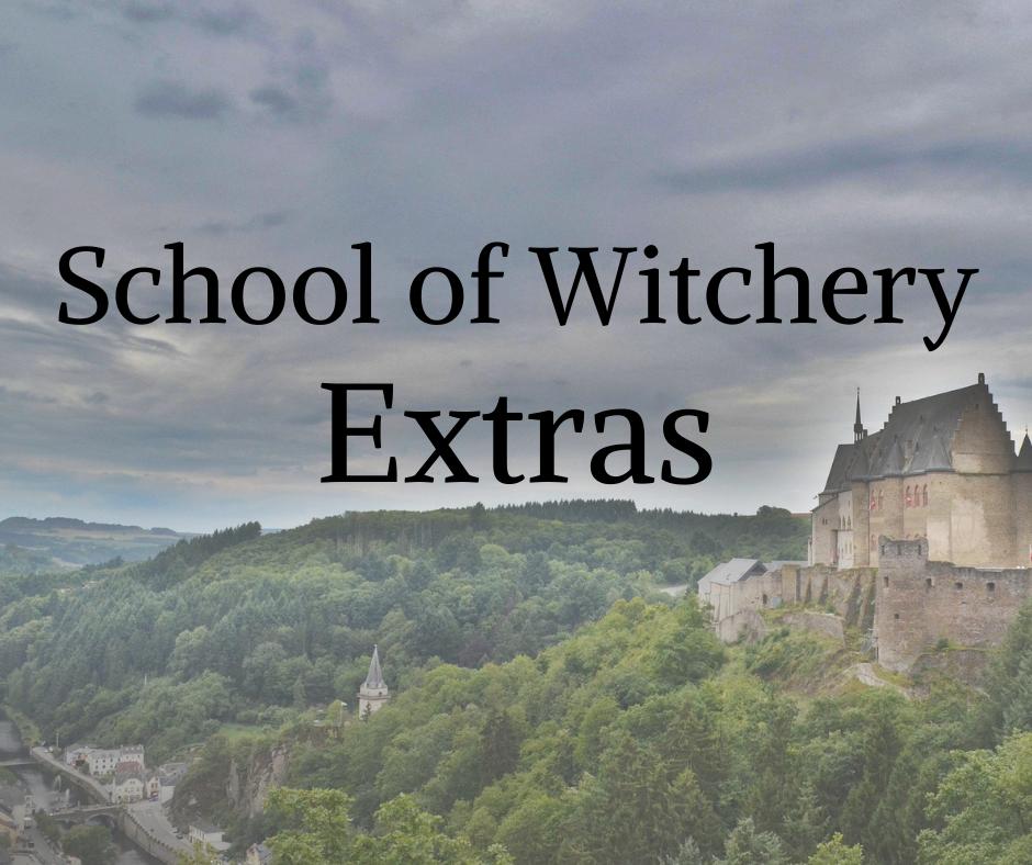 School of Witchery Bonus Extras