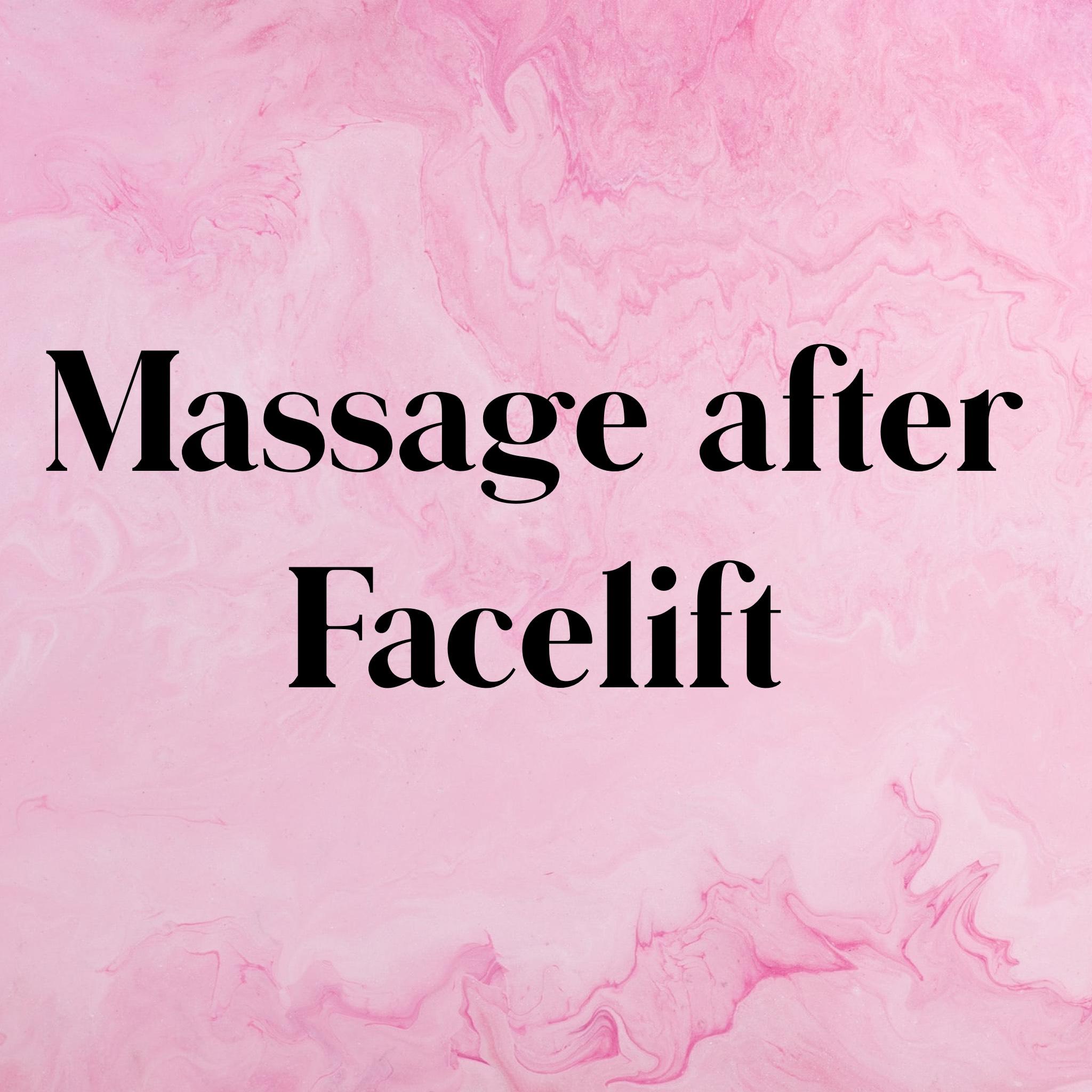 massage after facelift