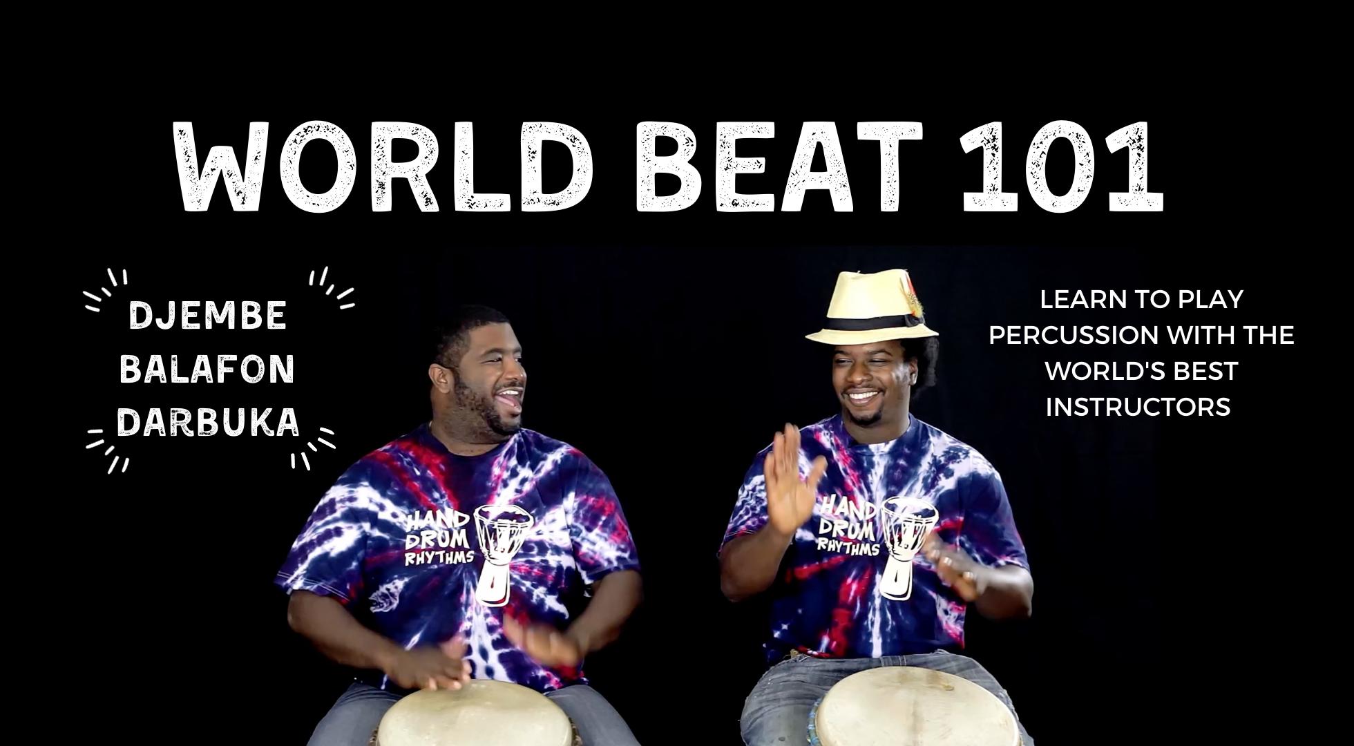World Beat 101 Map