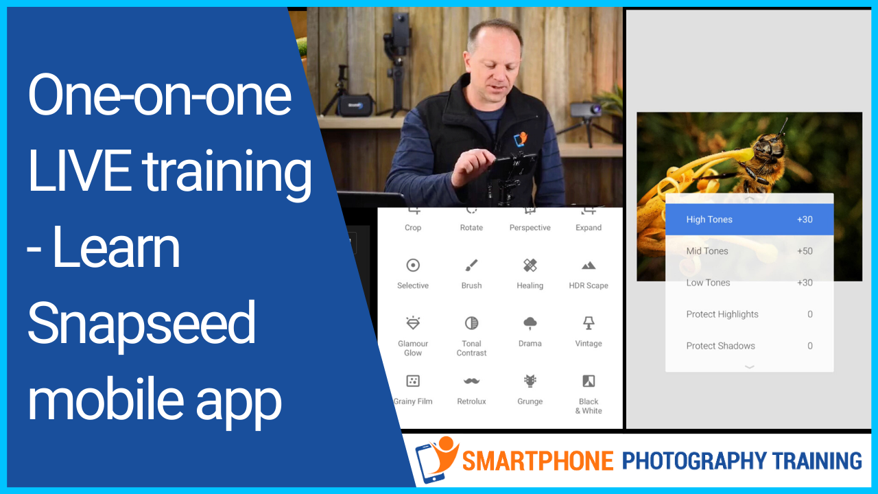 online smartphone photography training workshop
