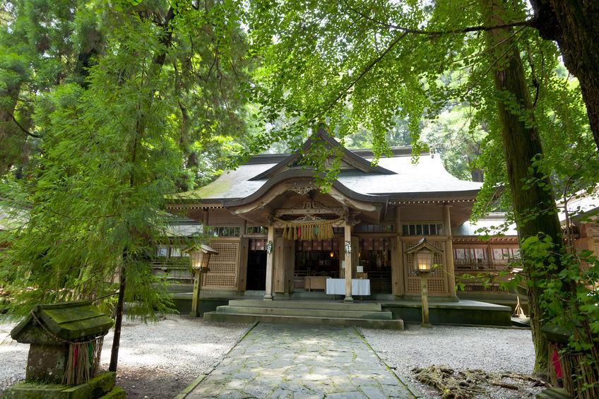 波動を高める神社