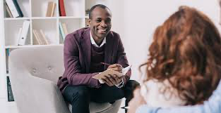 psychologist listening