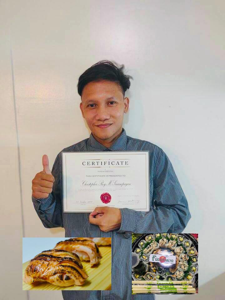 online sushi course for beginner