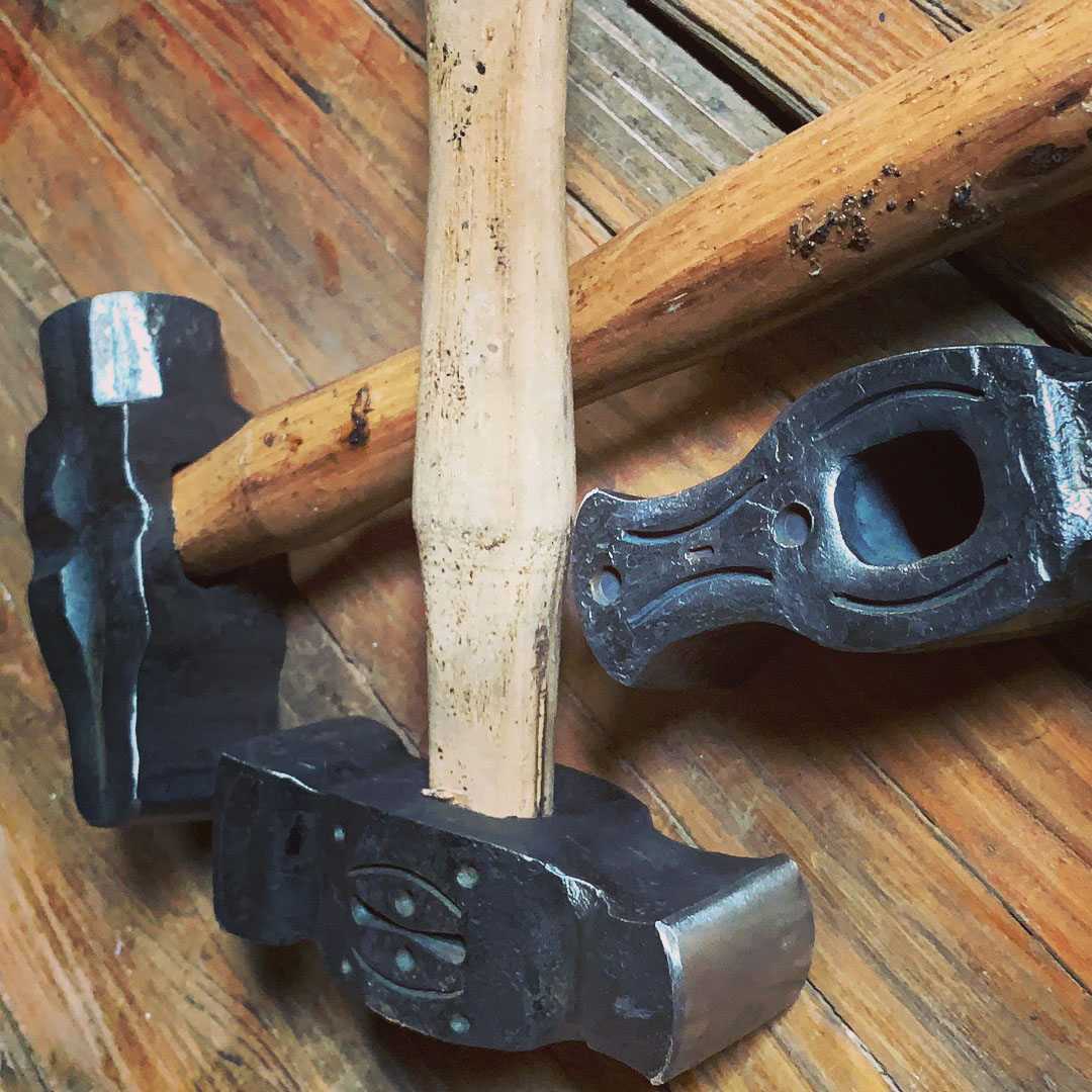 Blacksmithing forged bottle openers