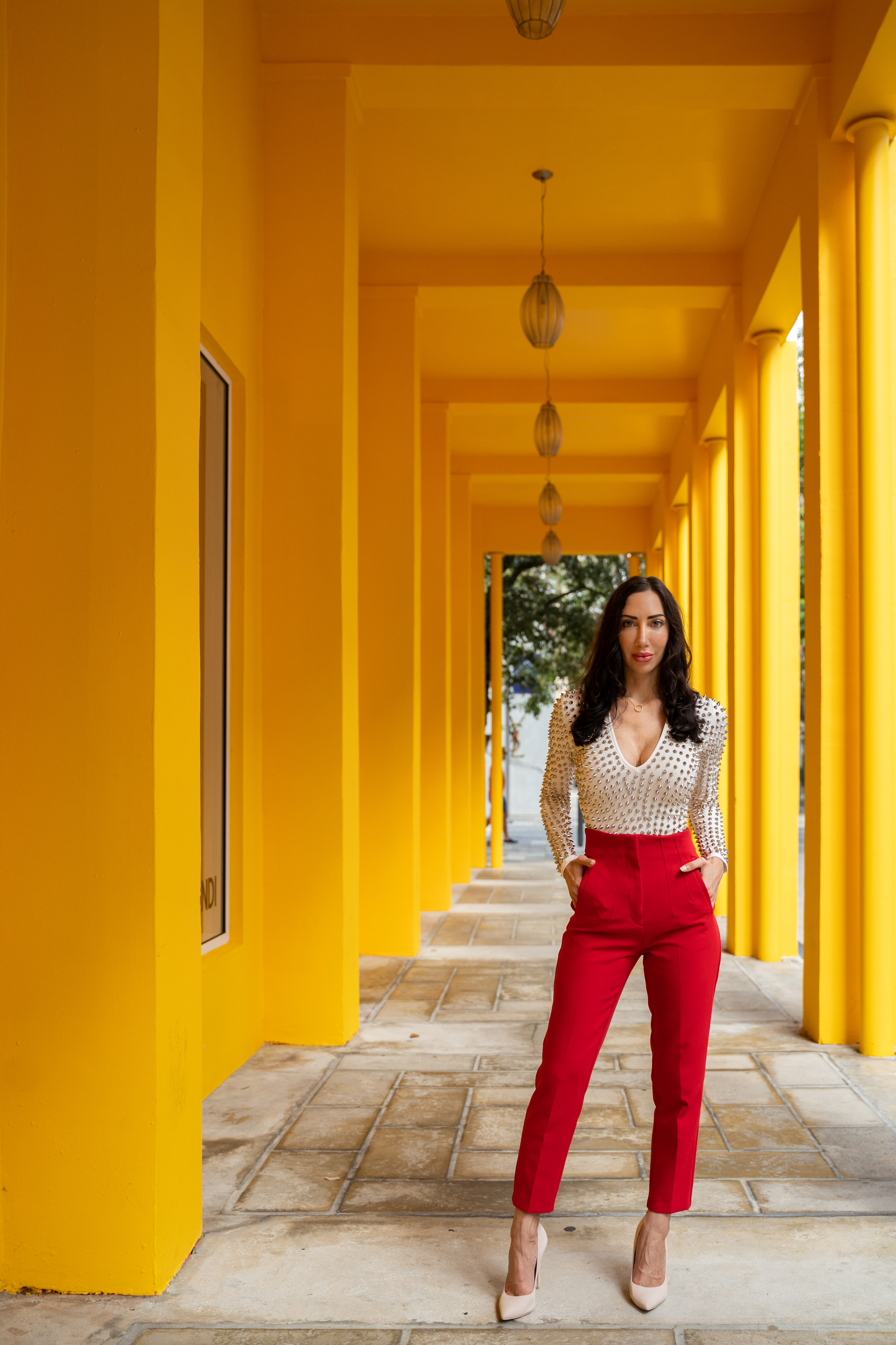 Dr. Kate Balestrieri, in the Miami Design District.