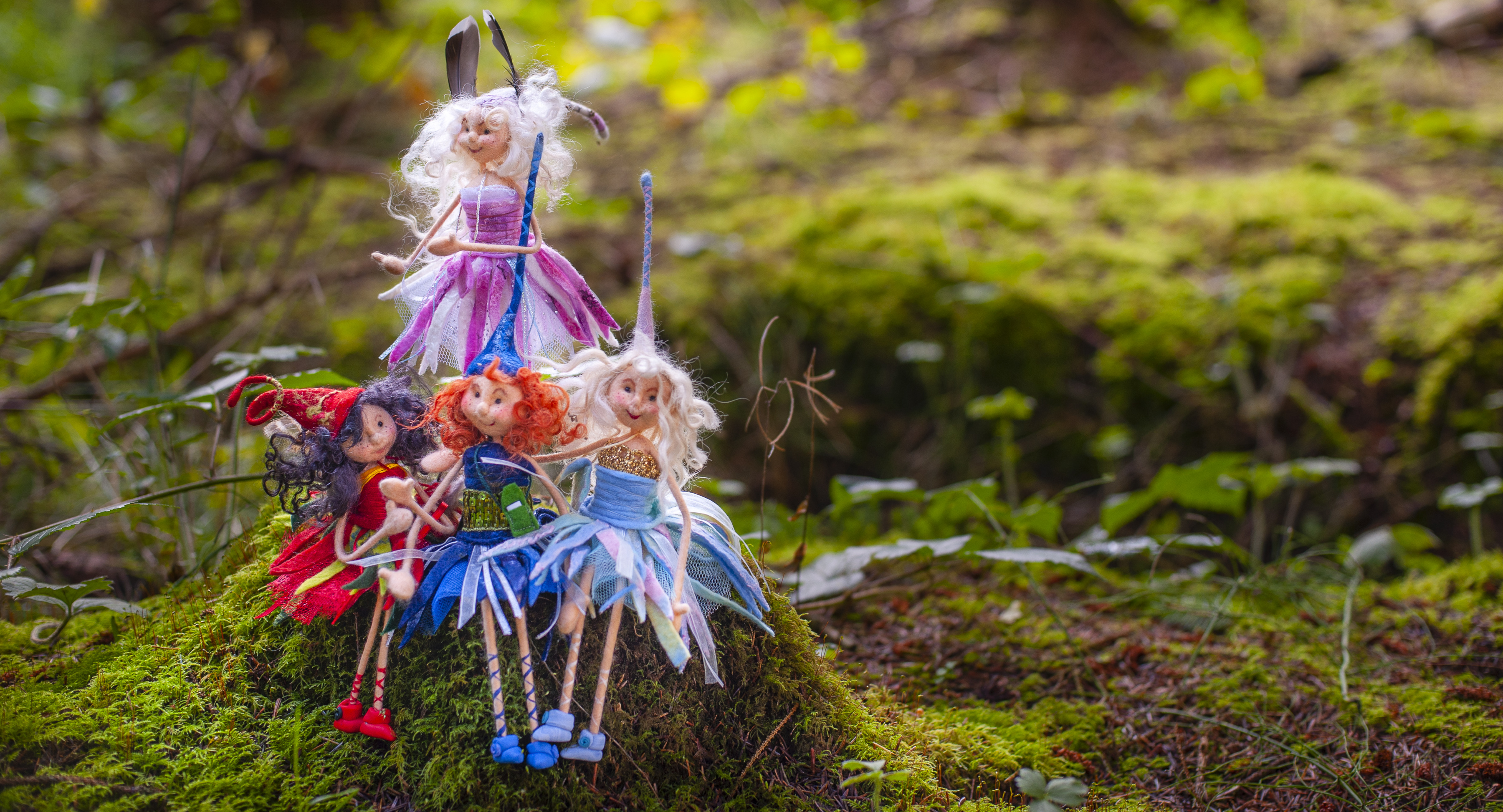 Felt Fairies art studio with Franziska Lienberger