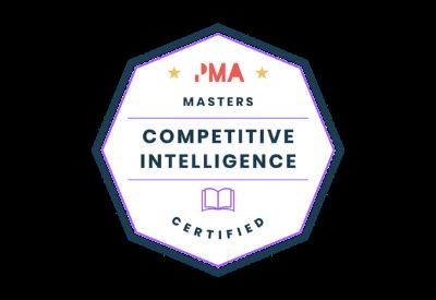 Competitive intel badge