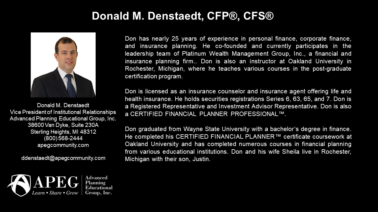 Donald Denstaedt