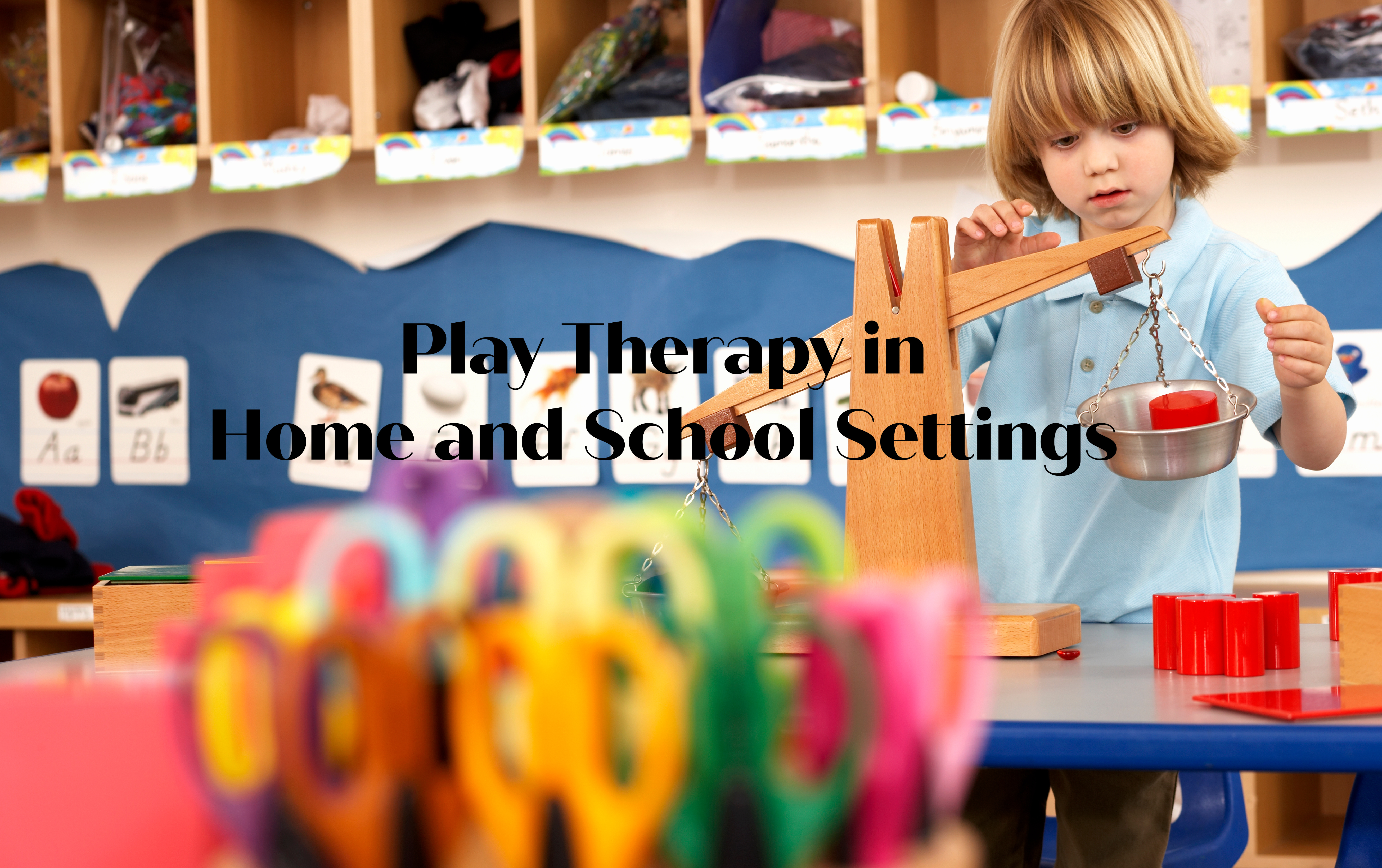 play therapy in home and school settings