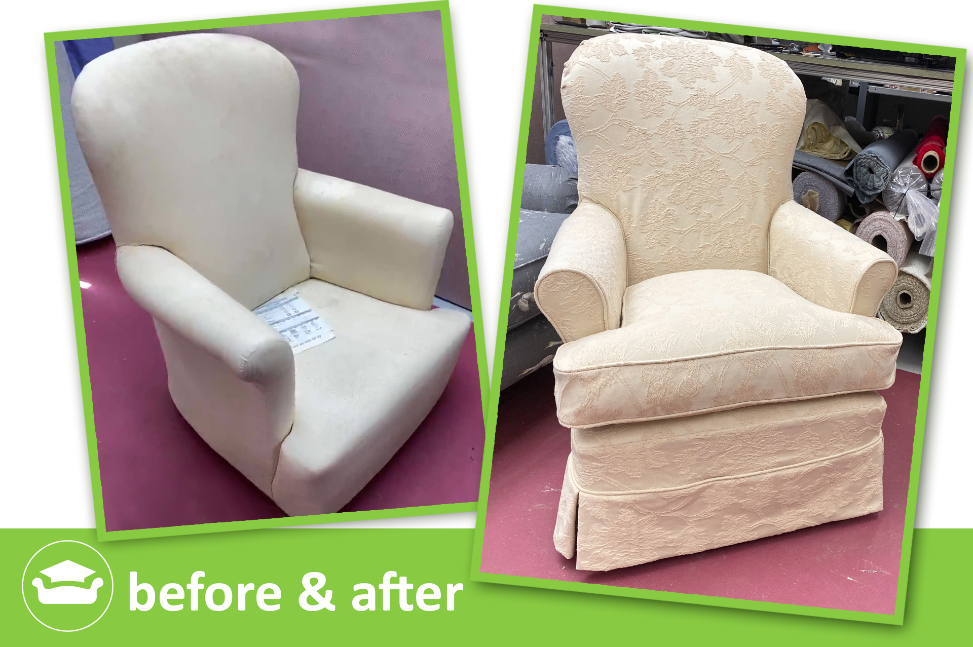 learn loose covers for a Terad chair
