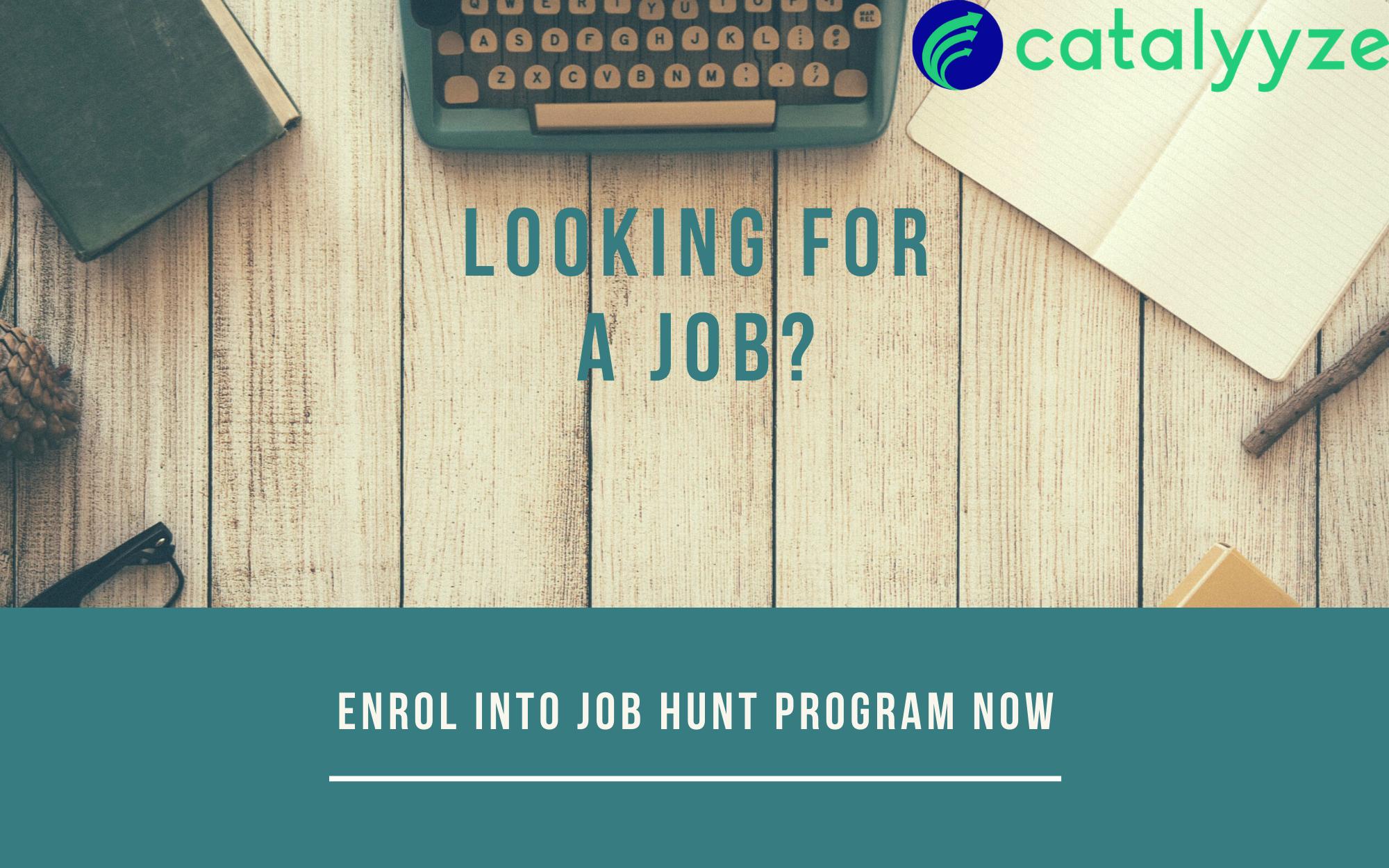 Job hunt program