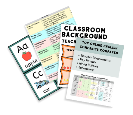 Mock up of four bonuses included in this course, charts freebies and printables