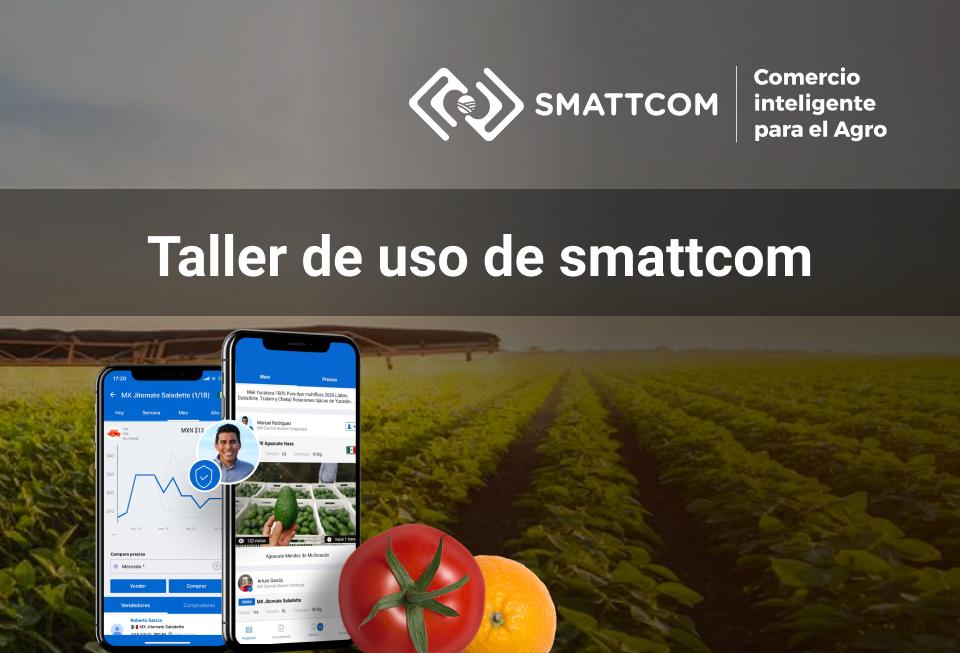 Taller de uso de la Plataforma Smattcom