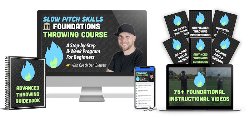slow pitch throwing for beginners