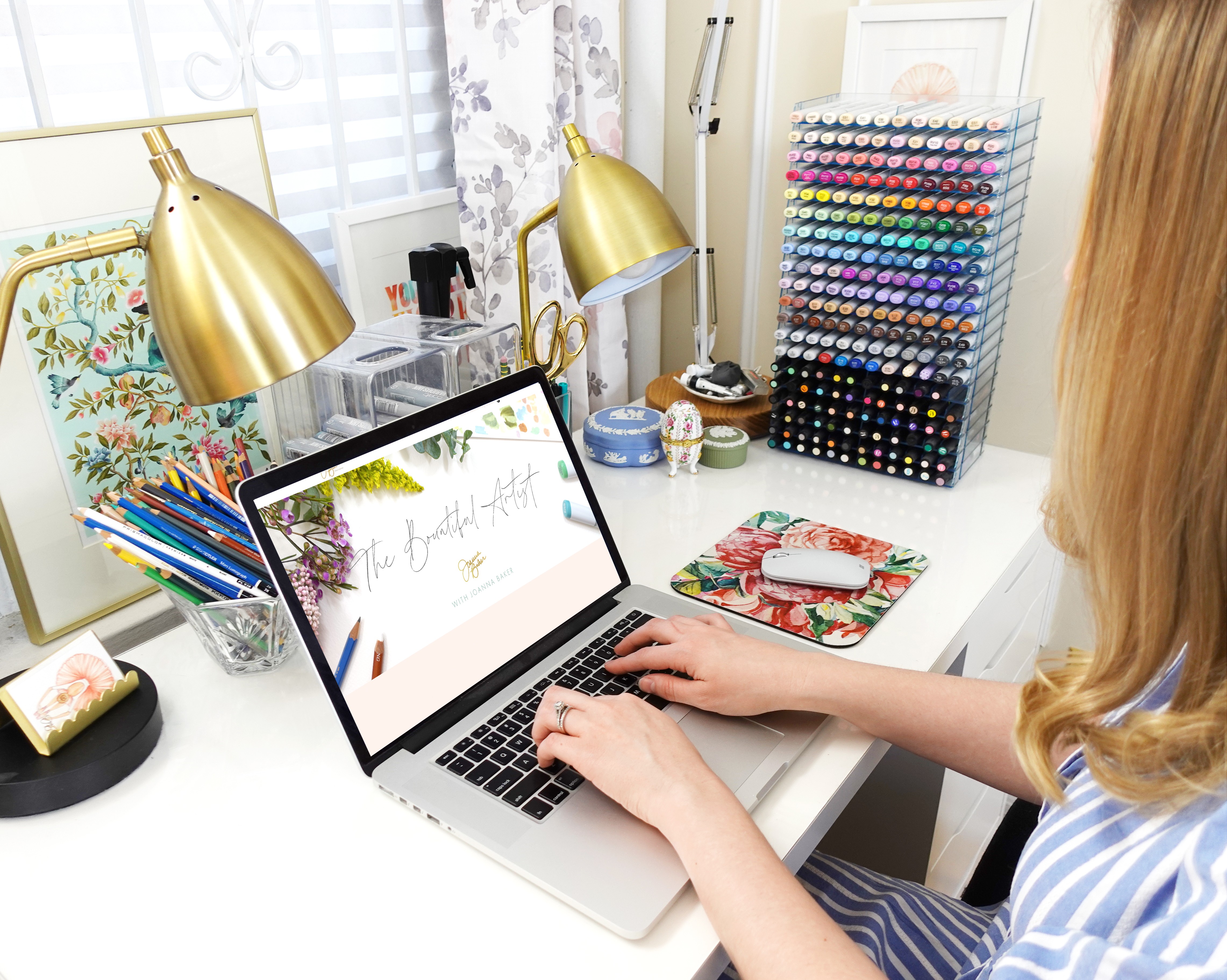 Join The Bountiful Artist Monthly Illustration Membership with Joanna Baker