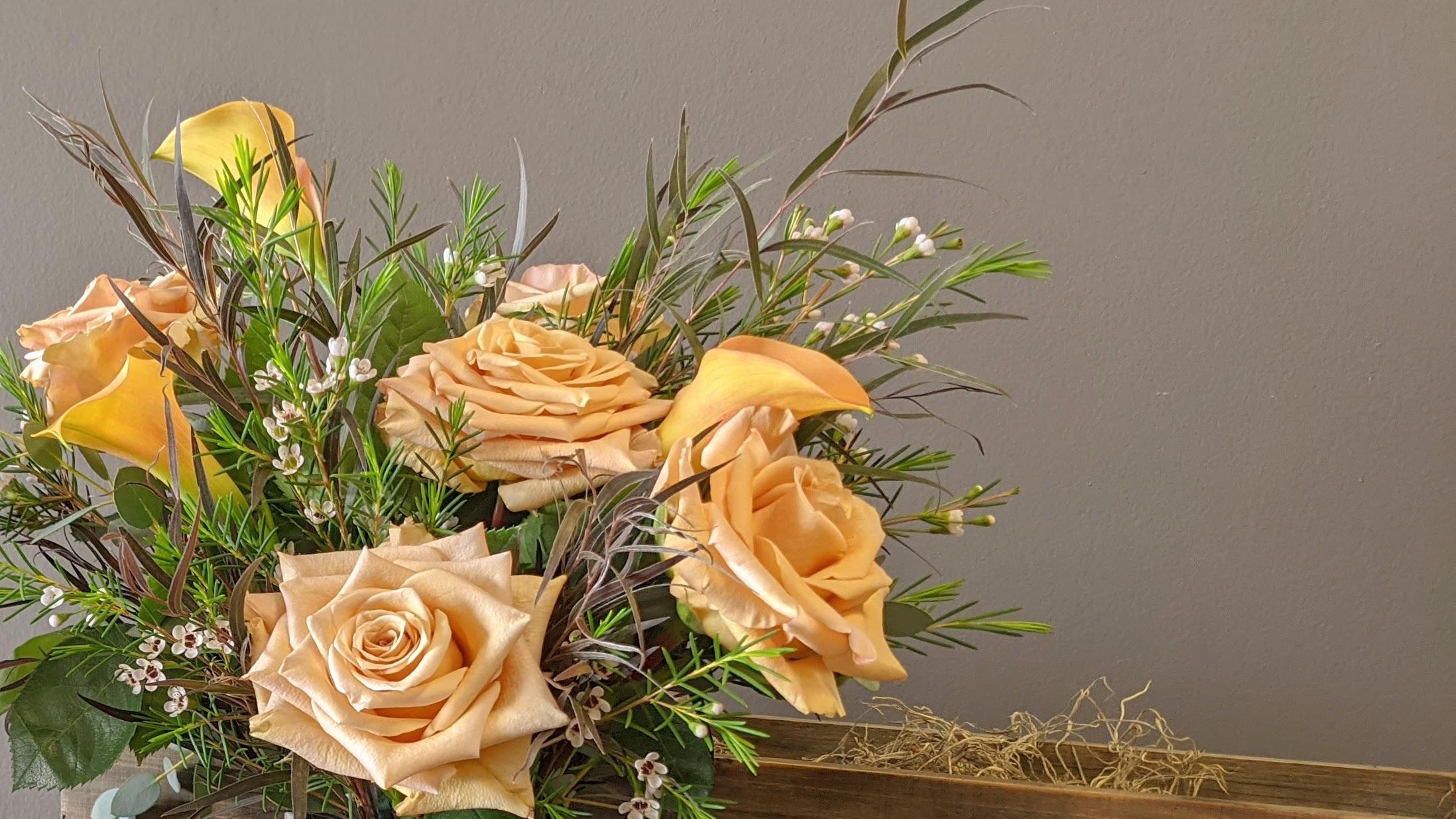 Soft Neutrals Floral Trend