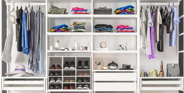 Crea un armario, closet o placard organizado
