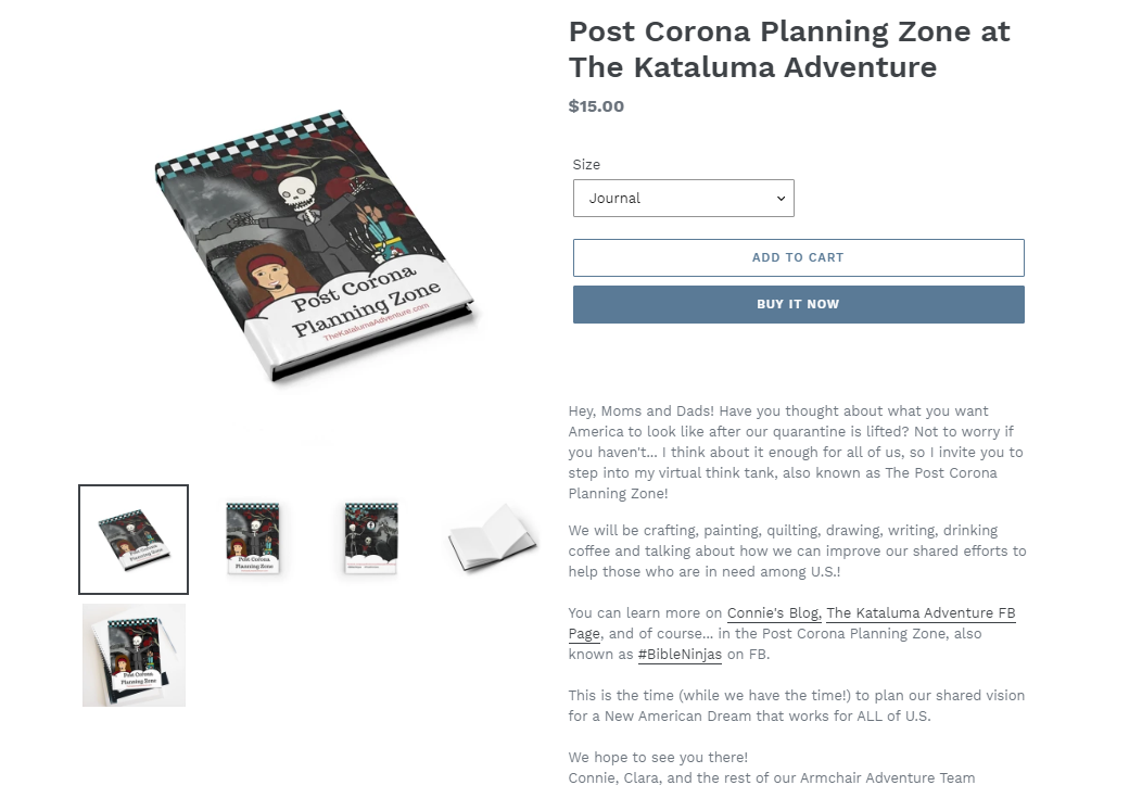 Get your Post Corona Planning Journal and let's write our shared vision for America, and the world beyond!