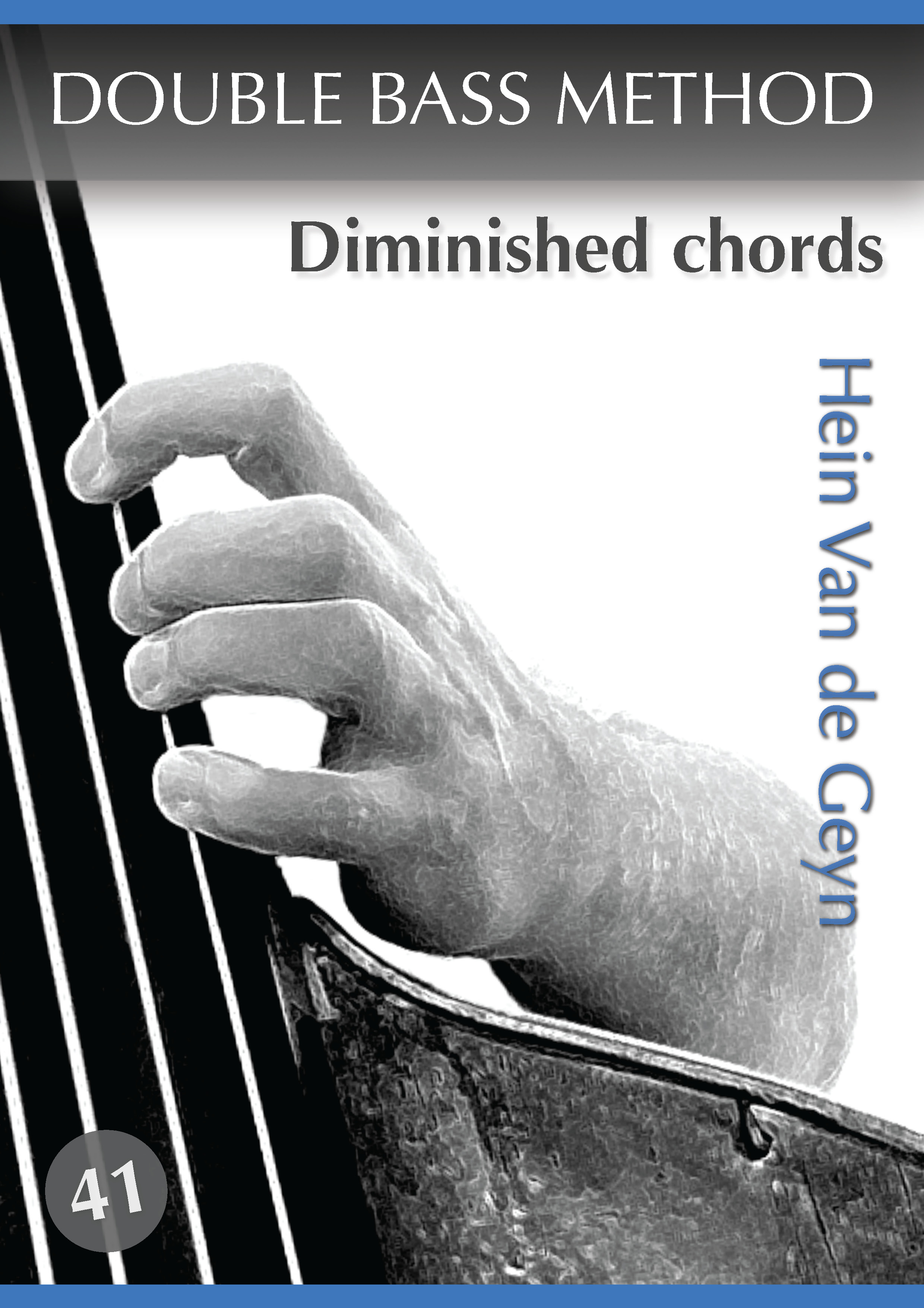Diminished chords - Hein Van de Geyn - Double Bass Method