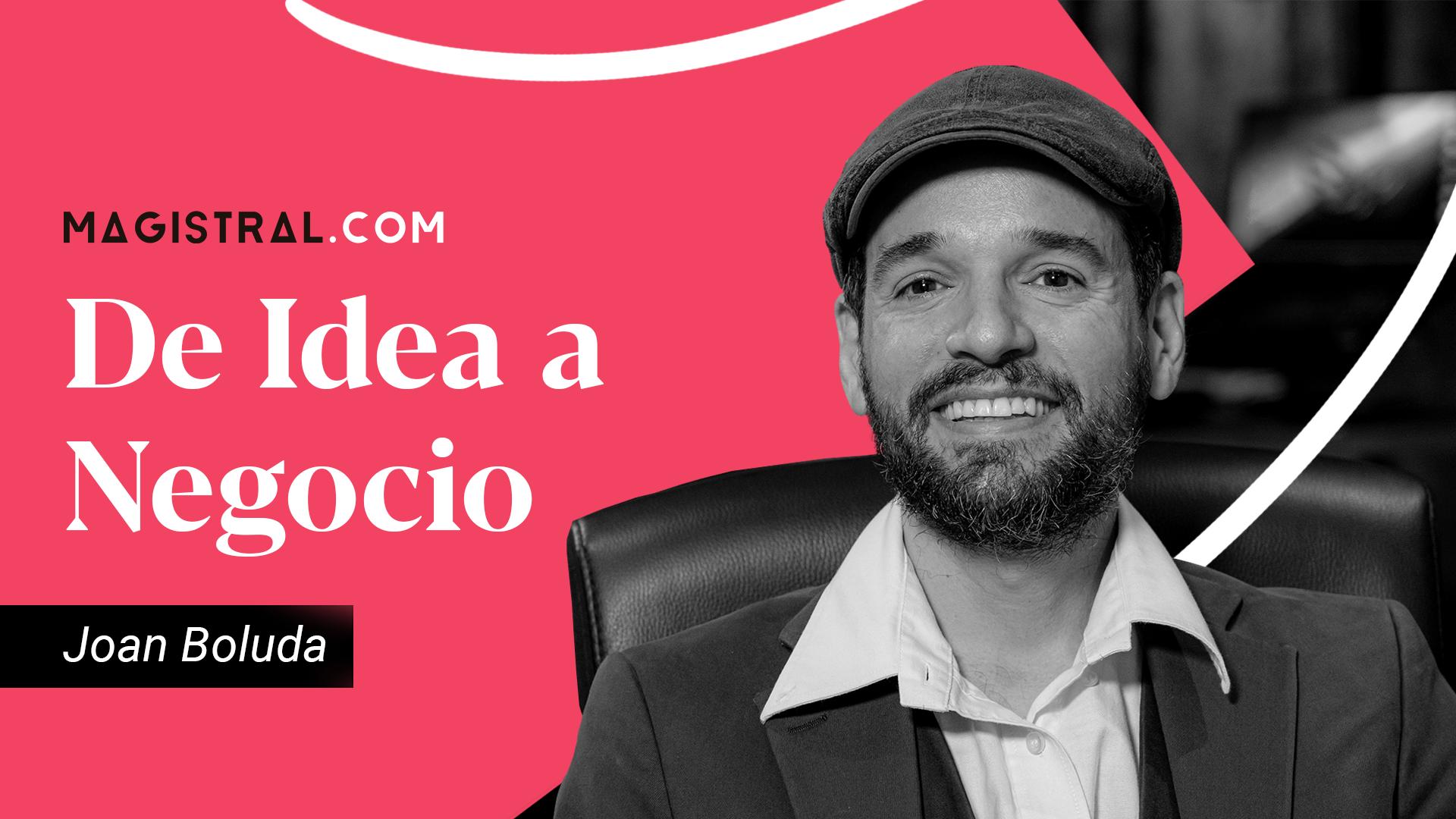 Joan Boluda, consultor de marketing online, fundador de boluda.com, el portal de cursos de marketing online