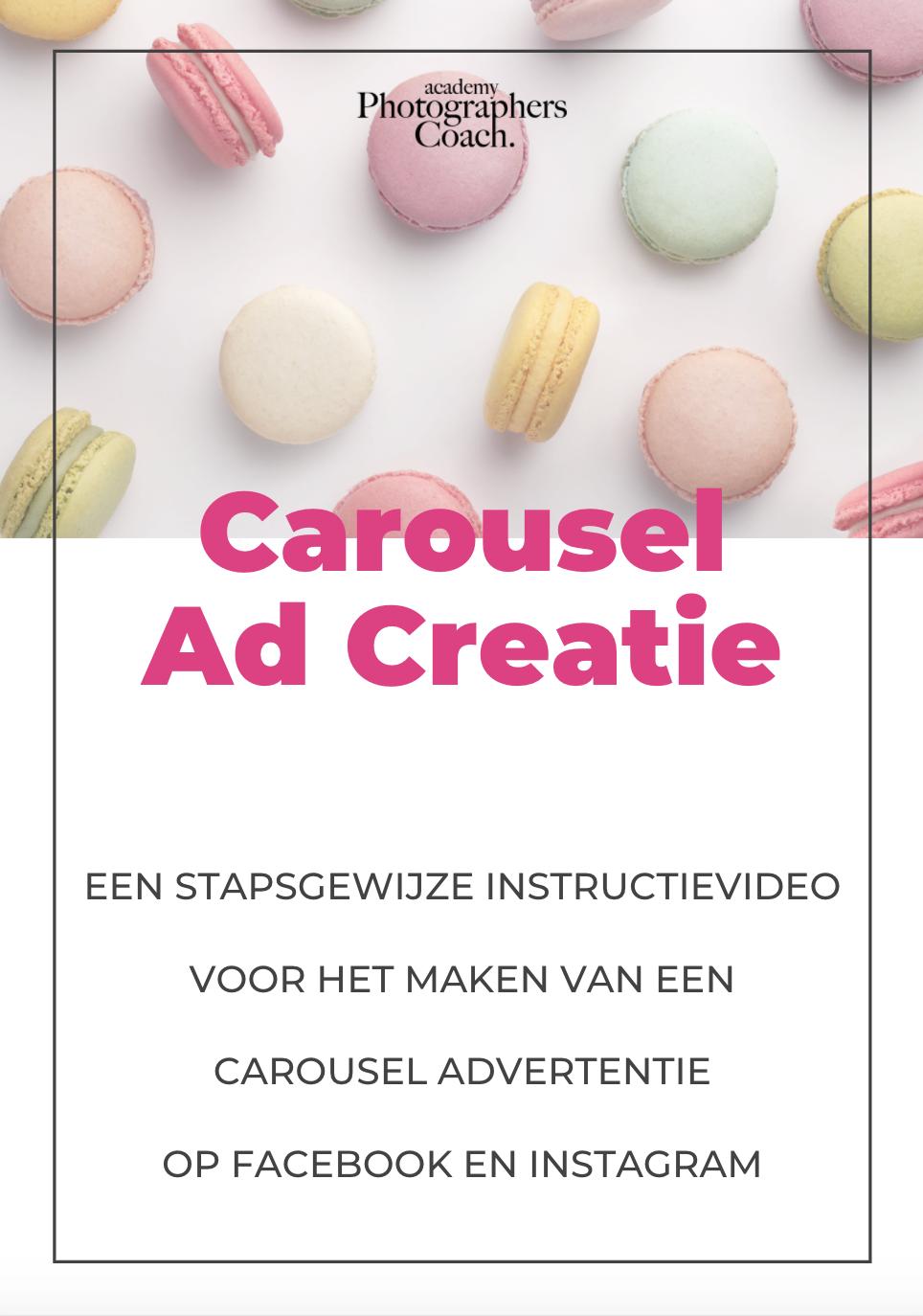 Bonus 3: Carousel Ad Creatie