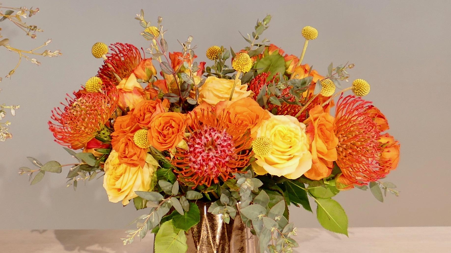 Flower Fridays: Sunny Bronze Florals