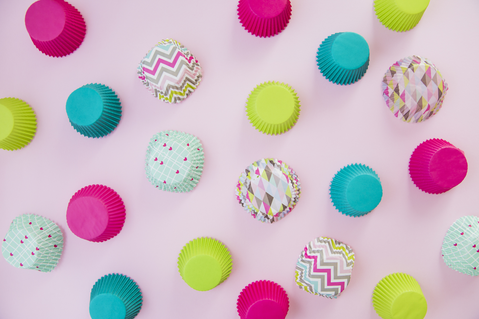 Business help for bakers and sweet treat makers. This is an image of cupcake wrappers.