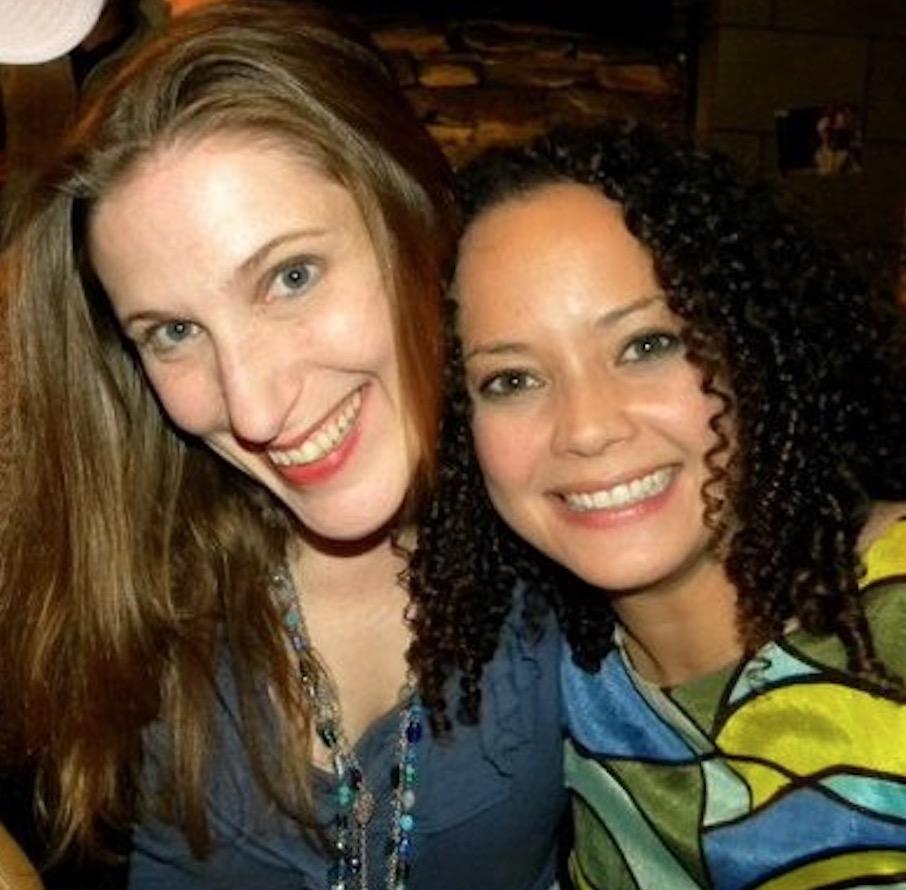 Bonnie Gillespie with Tanya Perez