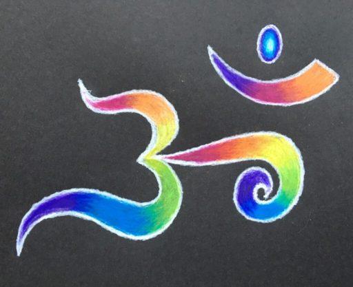 Full Spectrum Om - art by Hilary Oak