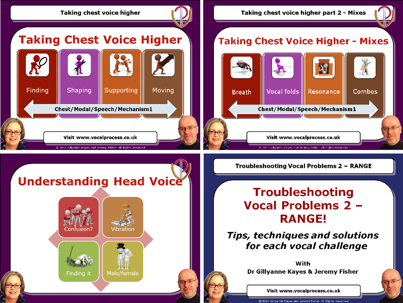 Four professional development Webinars created by Gillyanne Kayes and Jeremy Fisher