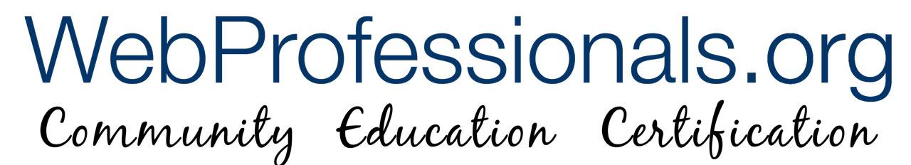 logo webprofessionals.org