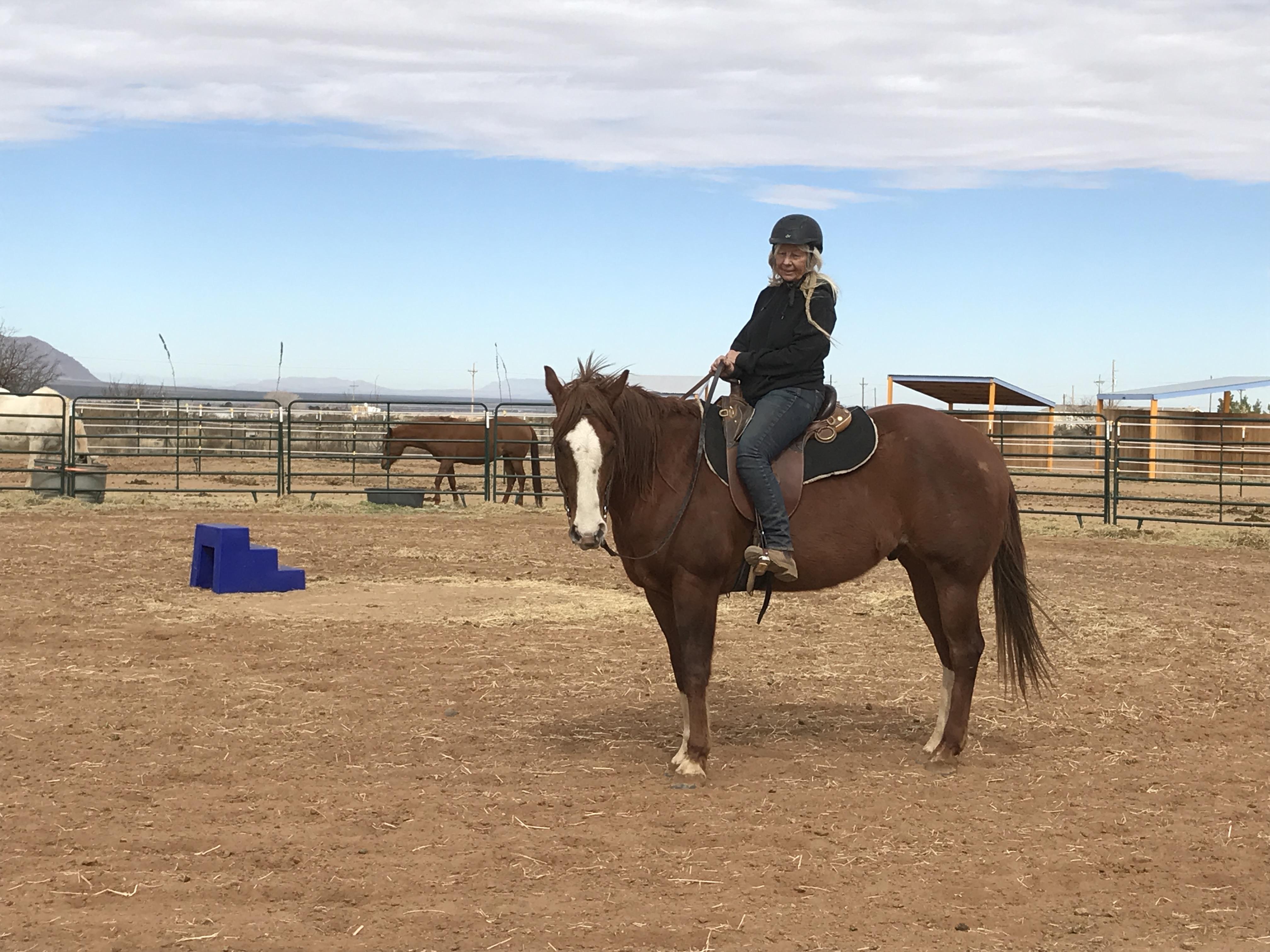 riding Aussie
