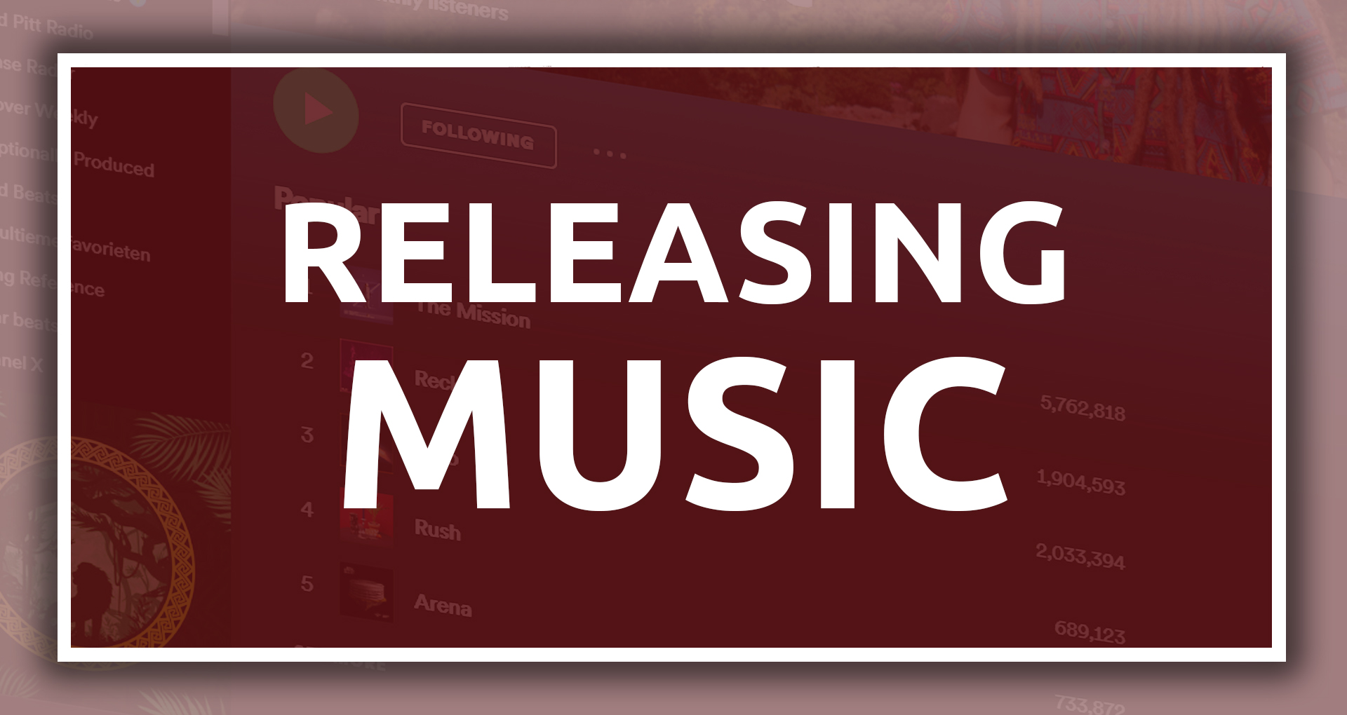 Releasing Music