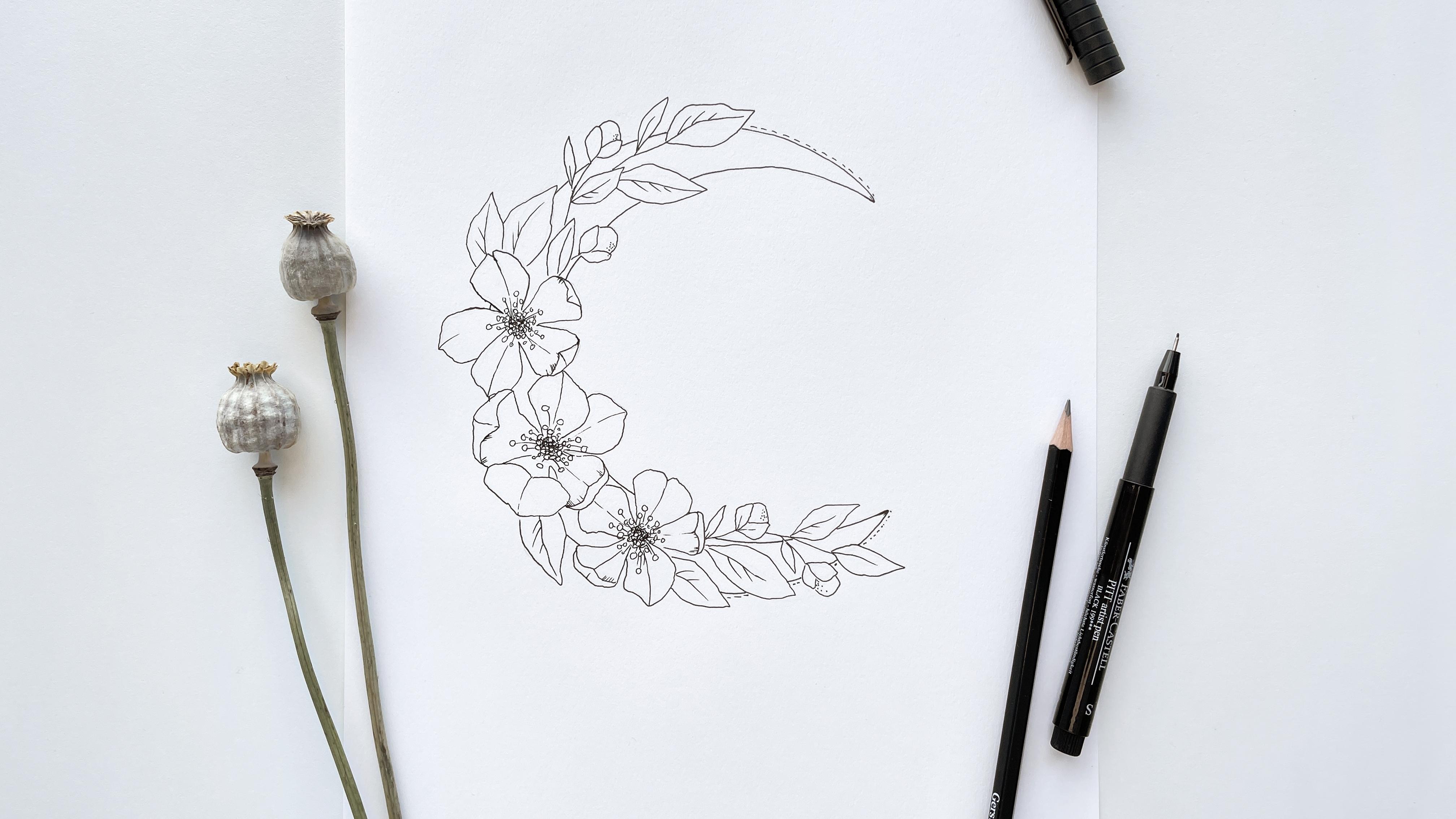 bloom creatives art classes magnolia watercolor