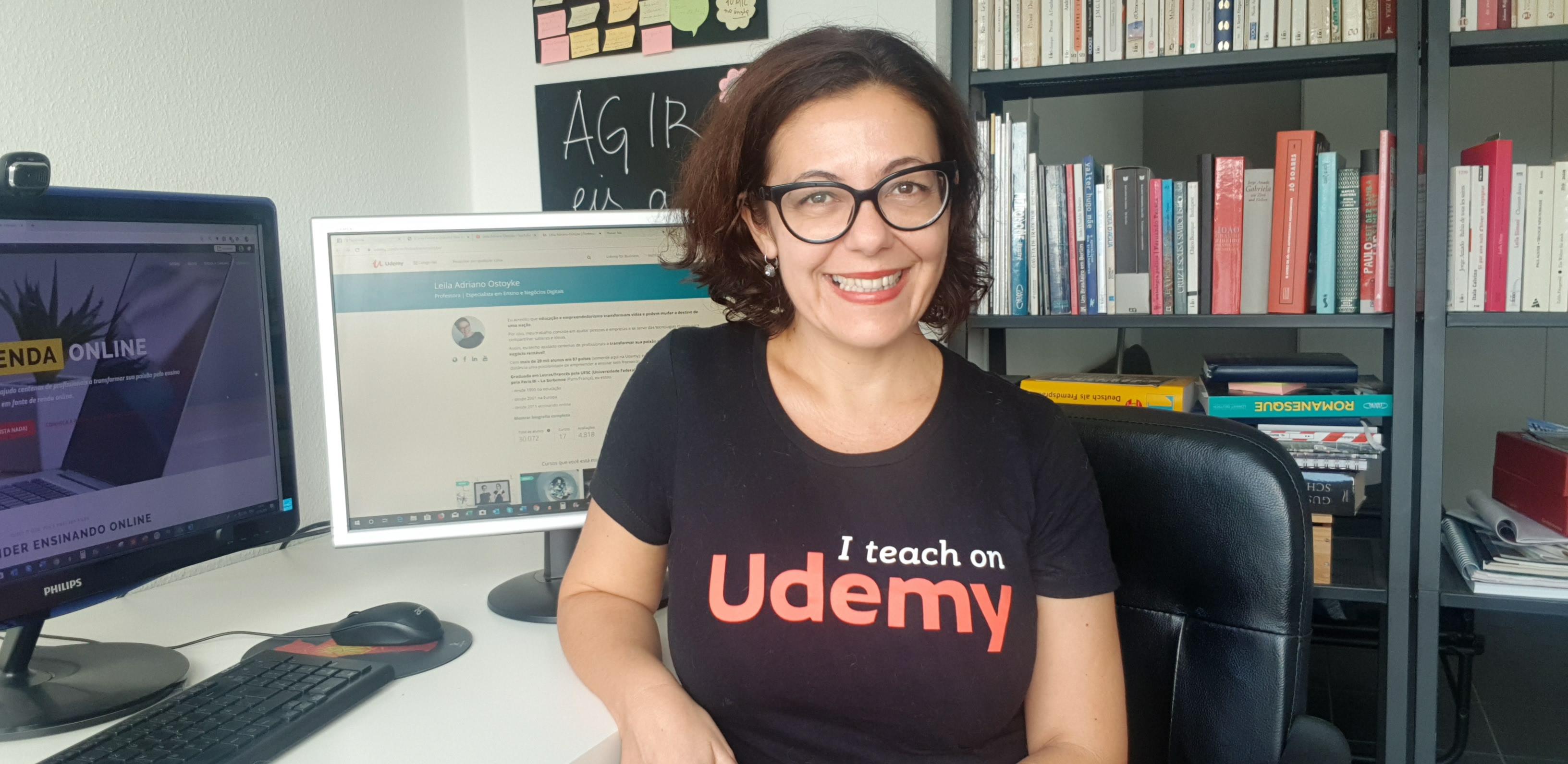 Como criar cursos e gerar renda na Udemy?