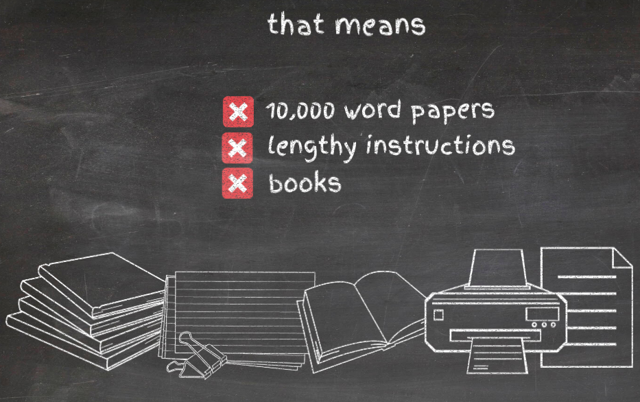 Simplifying English for Visual Learners