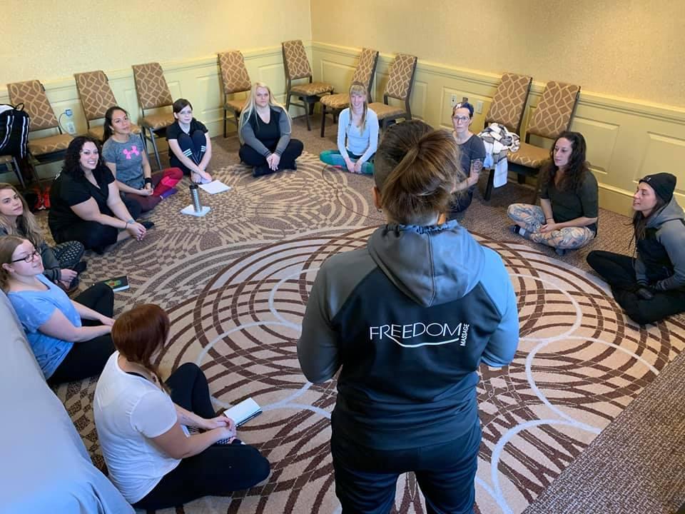 The Massage Mentor Sharing
