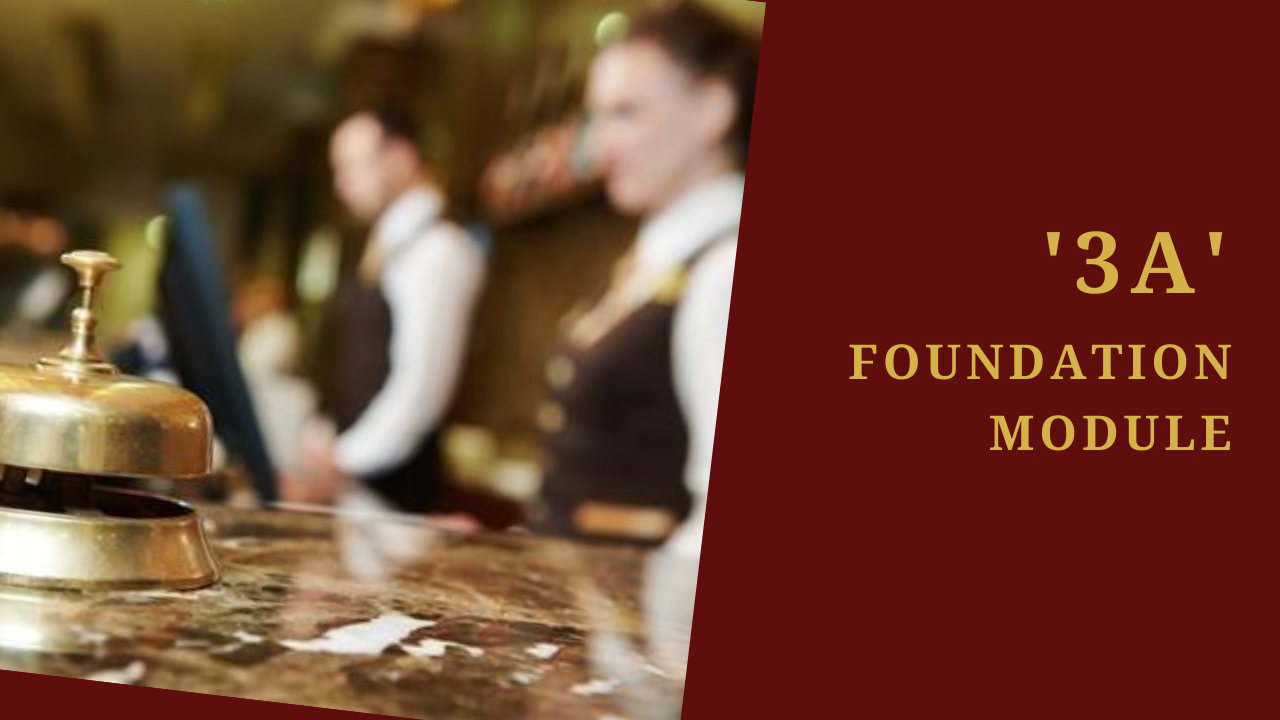 Hotelier Excellence Foundation Course